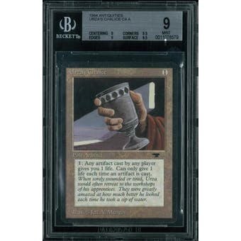 Magic the Gathering Antiquities Urza's Chalice  BGS 9 (9, 9.5, 9, 9.5)