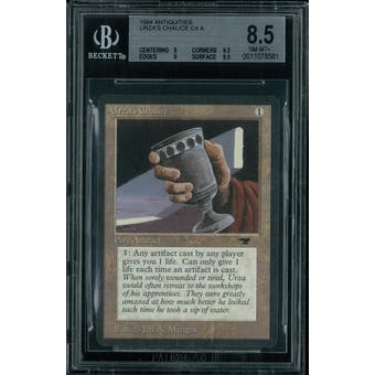 Magic the Gathering Antiquities Urza's Chalice  BGS 8.5 (8, 9.5, 9, 9.5)