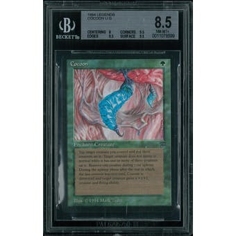 Magic the Gathering Legends Cocoon BGS 8.5 (8, 9.5, 9.5, 9.5)