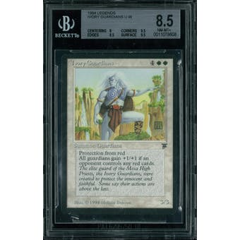 Magic the Gathering Legends Ivory Guardians BGS 8.5 (8, 9.5, 8.5, 9.5)