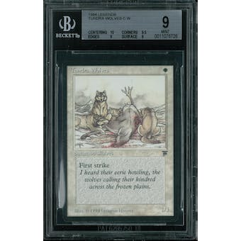 Magic the Gathering Legends Tundra Wolves BGS 9 (10, 9.5, 9, 9)