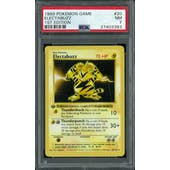 Pokemon Base Set 1st Edition Shadowless Electabuzz 20/102 PSA 7