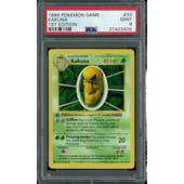 Pokemon Base Set 1st Edition Shadowless Kakuna 33/102 PSA 9