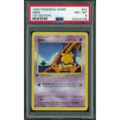 Pokemon Base Set 1st Edition Shadowless Abra 43/102 PSA 8