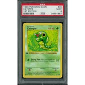 Pokemon Base Set 1st Edition Shadowless Caterpie 45/102 PSA 9
