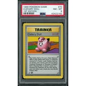 Pokemon Base Set 1st Edition Shadowless Clefairy Doll 70/102 PSA 8