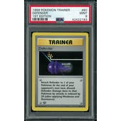 Pokemon Base Set 1st Edition Shadowless Defender 80/102 PSA 9