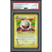 Pokemon Base Set 1 Shadowless Electrode 21/102 PSA 10 GEM MINT