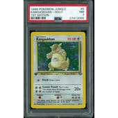 Pokemon Jungle 1st Edition Kangaskhan 5/64 PSA 7