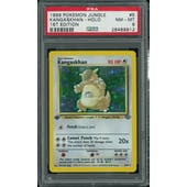 Pokemon Jungle 1st Edition Kangaskhan 5/64 PSA 8