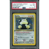 Pokemon Jungle 1st Edition Snorlax 11/64 PSA 6