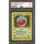 Pokemon Jungle No Set Symbol Error Electrode 2/64 PSA 9