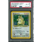 Pokemon Jungle No Set Symbol Error Kangaskhan 5/64 PSA 8