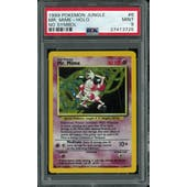 Pokemon Jungle No Set Symbol Error Mr. Mime 6/64 PSA 9