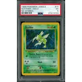 Pokemon Jungle No Set Symbol Error Scyther 10/64 PSA 5
