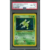 Pokemon Jungle No Set Symbol Error Scyther 10/64 PSA 8