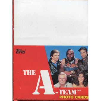 A-Team Rack Box (1983 Topps)