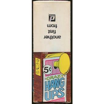 Crazy Hang Ups Box (1960 Donruss)