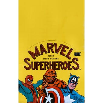 Marvel First Issue Covers Wax Box (1984)