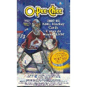2002/03 O-Pee-Chee Hockey Hobby Box