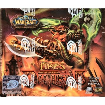 World of Warcraft Fires of Outland ENGLISH Booster Box - Spectral Tiger?