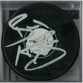 Braden Holtby Autographed Washington Capitals Hockey Puck (JSA COA)