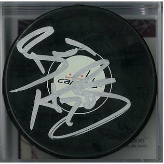 Braden Holtby Autographed Washington Capitals Hockey Puck (JSA COA)