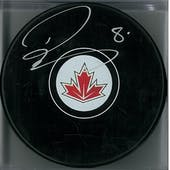 Drew Doughty Autographed Team Canada Hockey Puck (Fanatics COA)