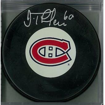 Jose Theodore Autographed Montreal Canadiens Hockey Puck (AJSW COA)
