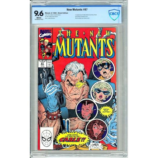 New Mutants #87 CBCS 9.6 (W) *18-09D0CD7-023*