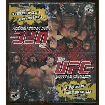 2009 Topps UFC Series 2 Retail Box