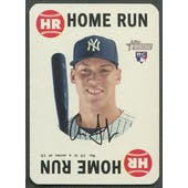 2017 Topps Heritage #10 Aaron Judge Topps Game Home Run Rookie