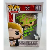 WWE Million Dollar Man Funko POP Autographed by Ted DiBiase