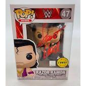 WWE Razor Ramon Funko POP Autographed by Scott Hall