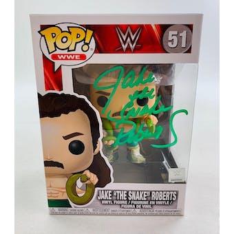 "WWE Jake ""The Snake"" Roberts Funko POP Autographed by Jake Roberts"