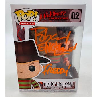 Nightmare on Elm Street Freddy Funko POP Autographed by Robert Englund