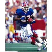 Antowain Smith Autographed Buffalo Bills 8x10 Football Photo