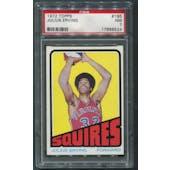 1972/73 Topps Basketball #195 Julius Erving Rookie PSA 7 (NM)