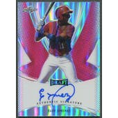 2013 Leaf Metal Draft #EJ2 Eloy Jimenez Prismatic Red Rookie Auto #1/5