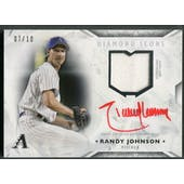 2018 Topps Diamond Icons #THLARRJ Randy Johnson Jersey Auto #07/10