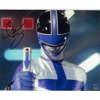 Michael Copon Autographed 8x10 Power Rangers Helmet Photo