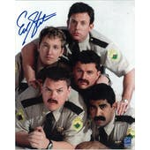 Erik Stolhanske Autographed Super Troopers Pyramid 8x10 Photo