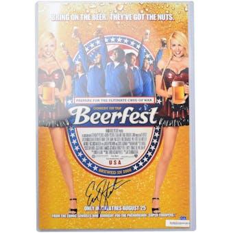 Erik Stolhanske Autographed Beerfest 11x14 Photo