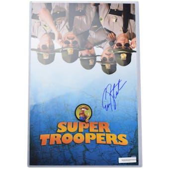 Erik Stolhanske Autographed Super Troopers 11x14 Photo (DA COA)