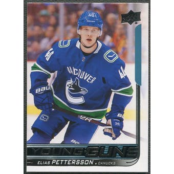 2018/19 Upper Deck #248 Elias Pettersson Young Guns Rookie
