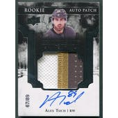 2017/18 Exquisite Collection #ECAT Alex Tuch Rookie Patch Auto #67/89