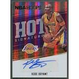 2017/18 Hoops #47 Kobe Bryant Hot Signatures Auto