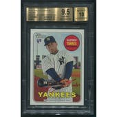 2018 Topps Heritage #ROAGT Gleyber Torres Real One Red Ink Rookie Auto #66/69 BGS 9.5 (GEM MINT)