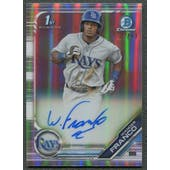 2019 Bowman Chrome #CPAWF Wander Franco Prospect Refractor Rookie Auto #022/499