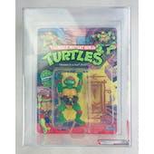 Teenage Mutant Ninja Turtles Raphael Series 1 / 10 Back AFA 70 EX+ Plastic Head